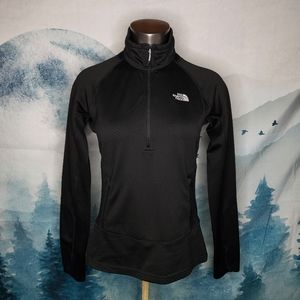 The North Face Half Zip Black Pullover